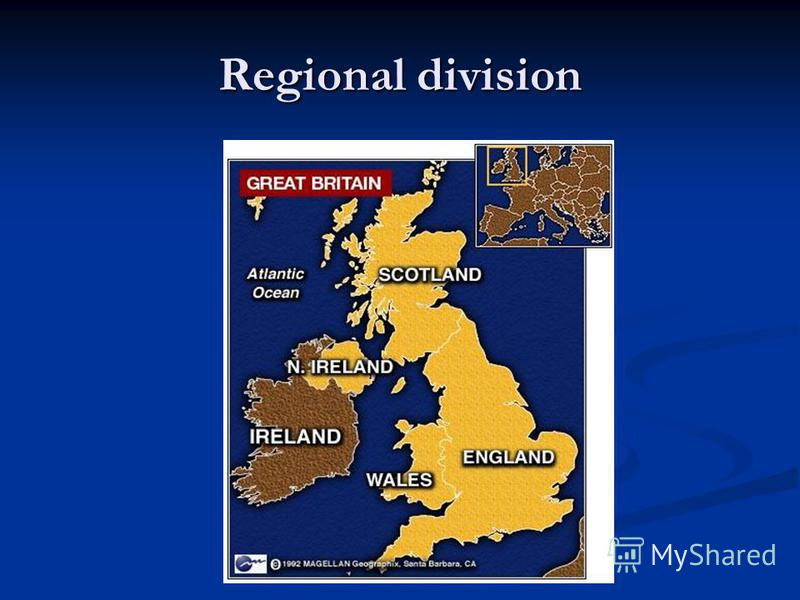 Regional division