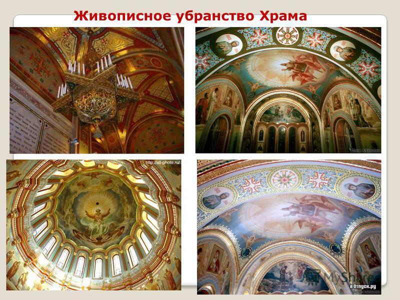 16 Живописное убранство Храма