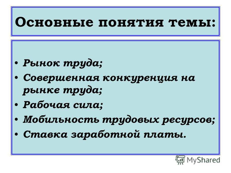 Подготовила учитель экономики МОУ «МСОШ 1» : Свищева В.П.