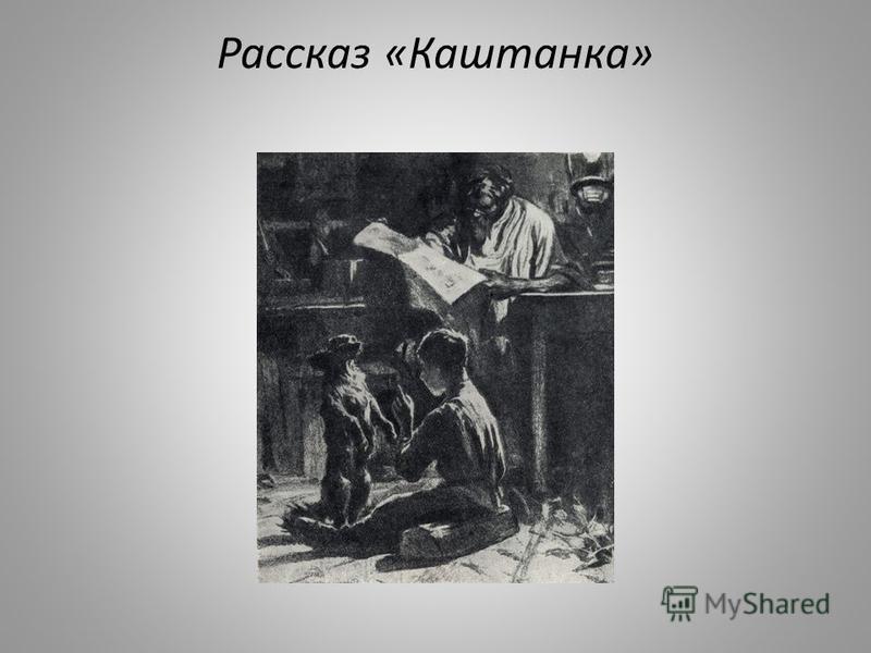 Рассказ «Каштанка»