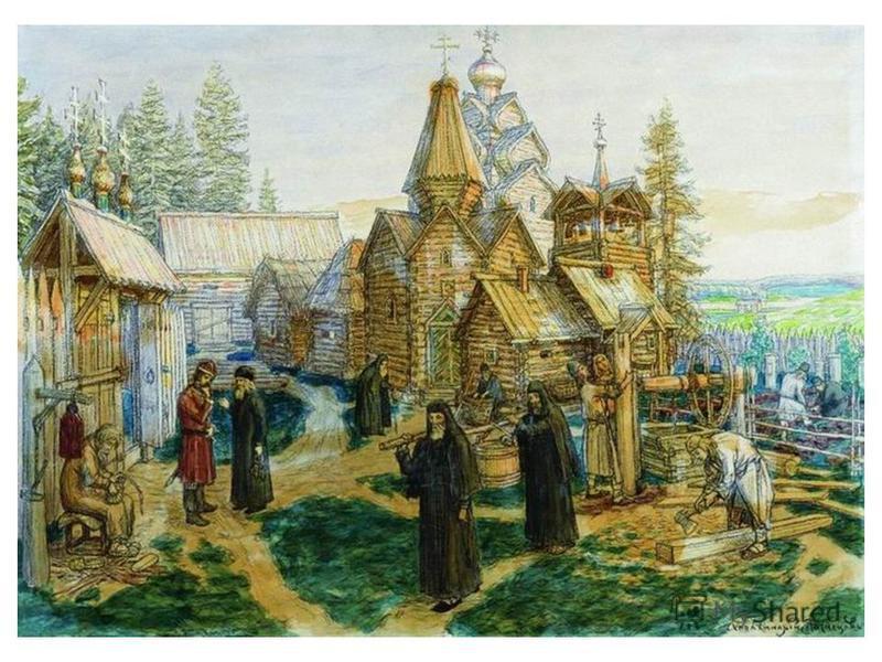 История В 1337 году Сергий Радонежский основал небольшой общежительный монастырь с деревянным храмом во имя Святой Троицы близ Хотькова, на холме Маковец (храм был освящён в 1340 году) [1]:3. В 1355 году в монастыре был введён новый, общежительный ус