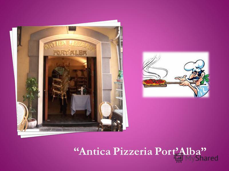 Antica Pizzeria PortAlba