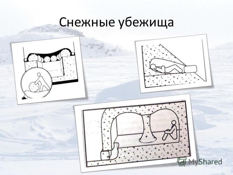 Снежные убежища