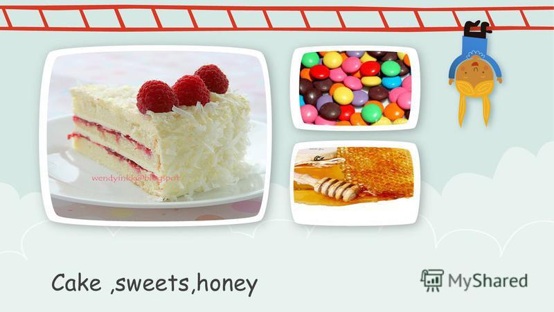 Cake,sweets,honey ПРИМЕЧАНИ Е Чтобы изменить изображение на этом слайде, выберите и удалите его. Затем нажмите значок Вставка рисунка в заполнителе, чтобы вставить нужное изображение.