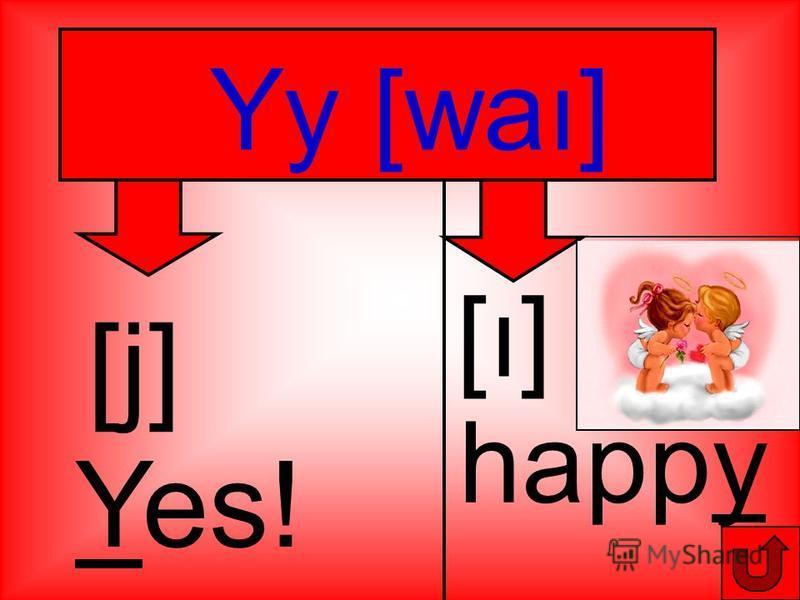 happy [ı] [ı] Yy [waı] [j] Yes!
