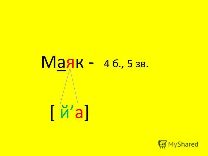Юла - [ й у] 3 б., 4 зв.