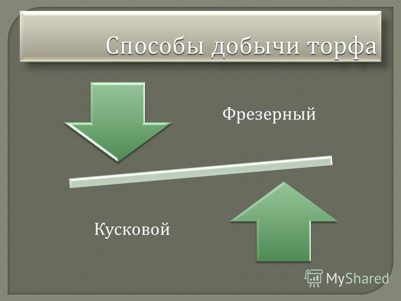 Фрезерный Кусковой