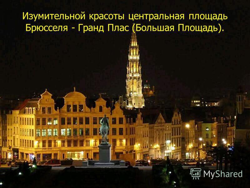 Писаревская Т.П. Баган Изумительной красоты центральная площадь Брюсселя - Гранд Плас (Большая Площадь).