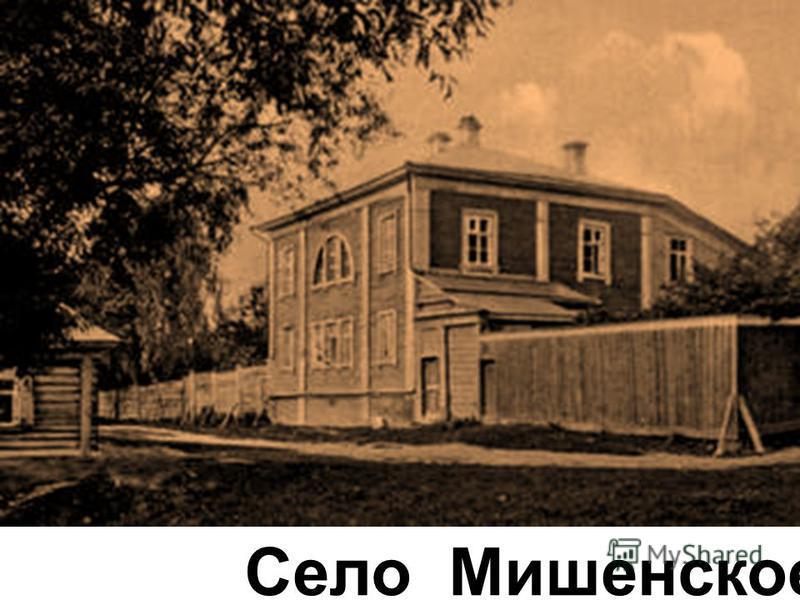 Село Мишенское
