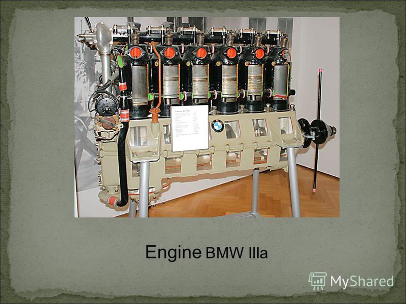 Engine BMW IIIa