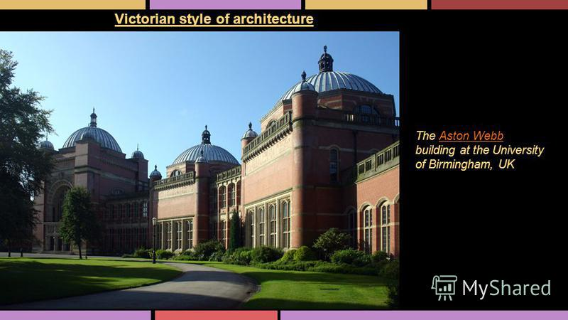 Victorian style of architecture The Aston Webb building at the University of Birmingham, UKAston Webb