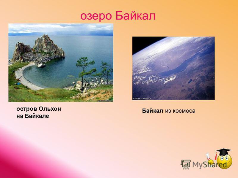 озеро Байкал Байкал из космоса остров Ольхон на Байкале