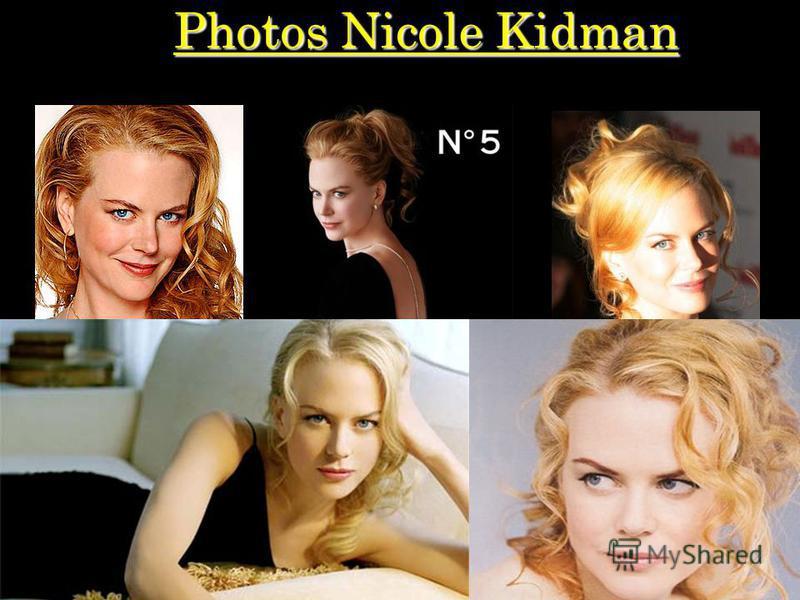 Photos Nicole Kidman