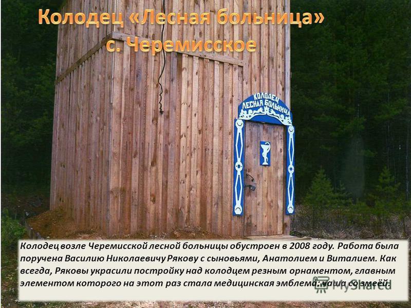 Родник «Крещенский» в Ленёвском, обустроенный в 2008 году, стал любимым местом отдыха жителей села.