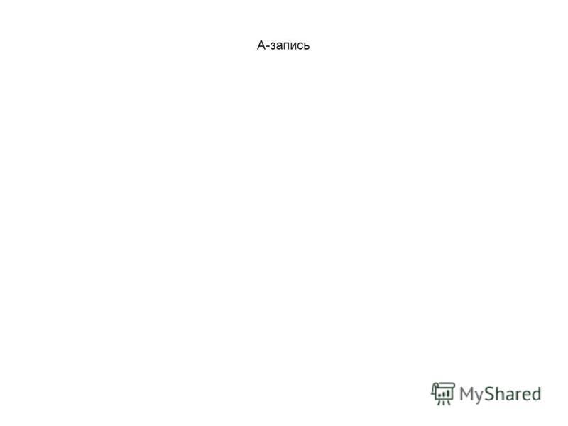 А-запись