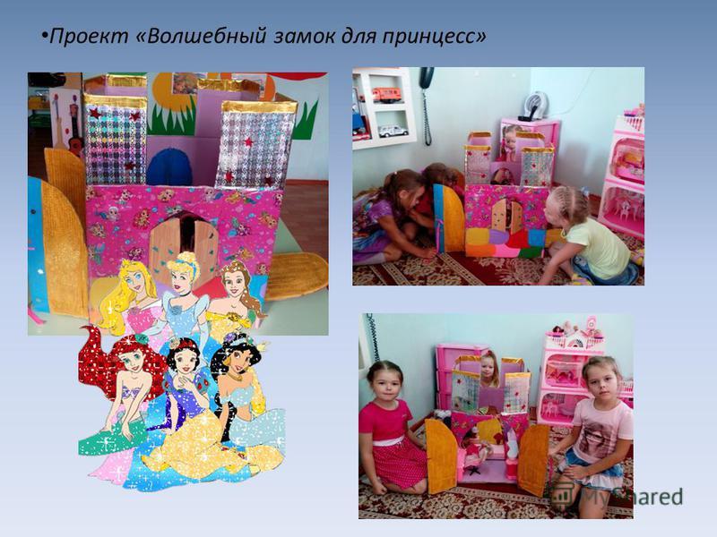 Проект «Волшебный замок для принцесс»