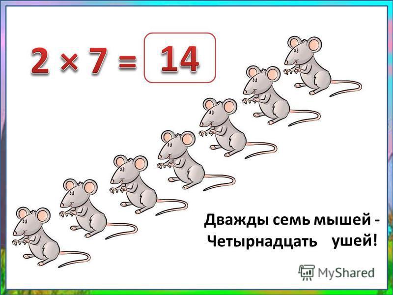Дважды семь мышей - … ушей! Четырнадцать