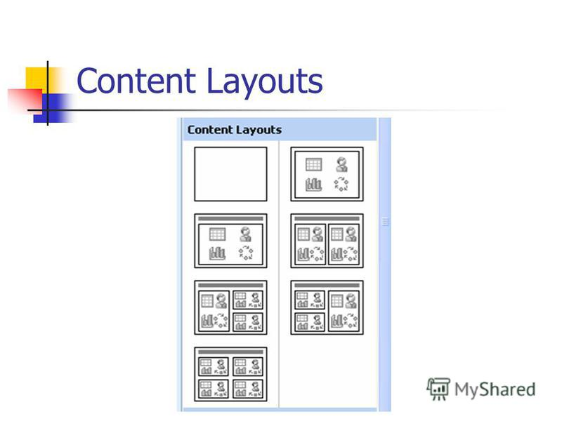 Content Layouts