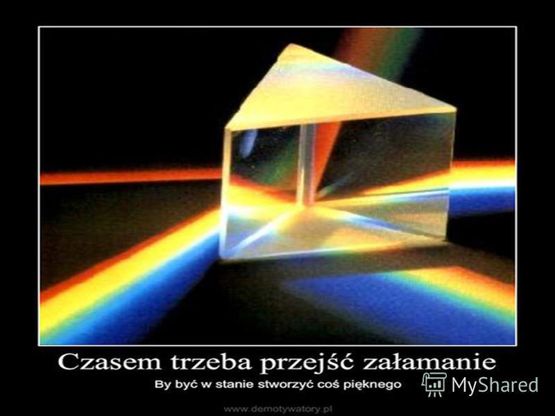 Преломление белого света в стеклянной призме