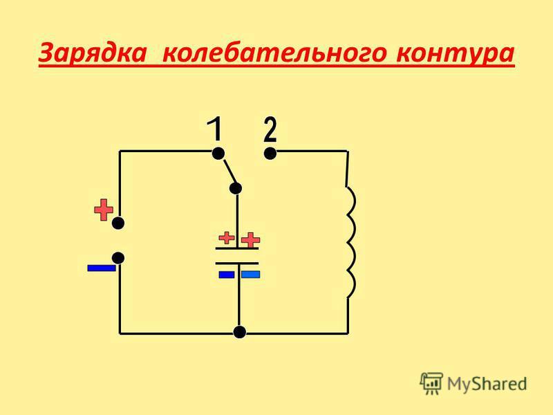 Зарядка колебательного контура