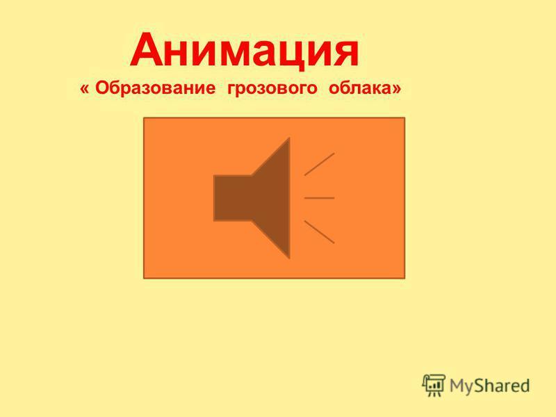 Анимация «Электризация»