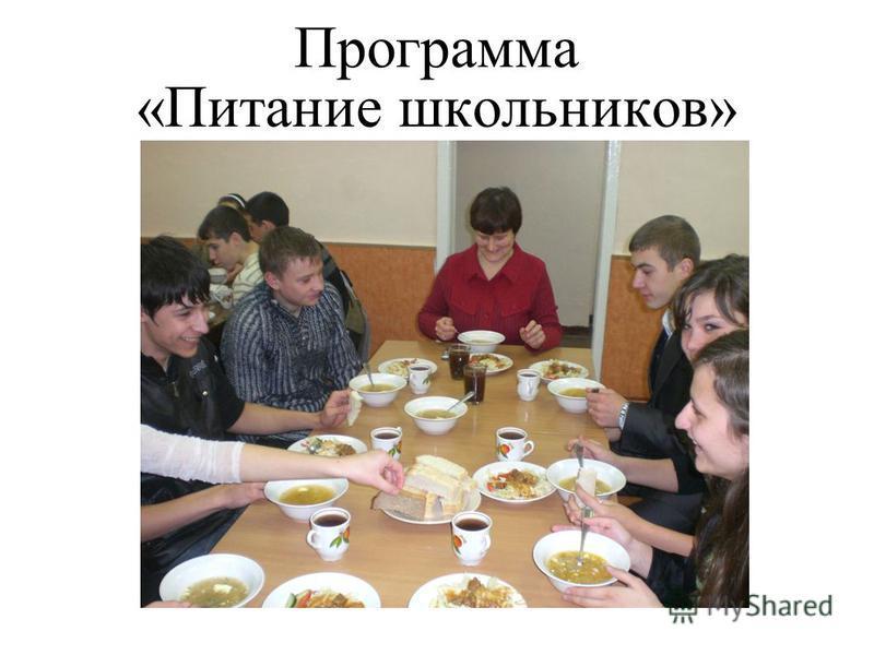 Программа «Питание школьников»
