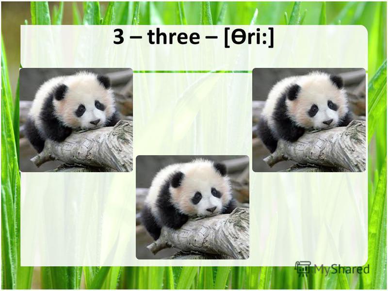 3 – three – [Ɵri:]