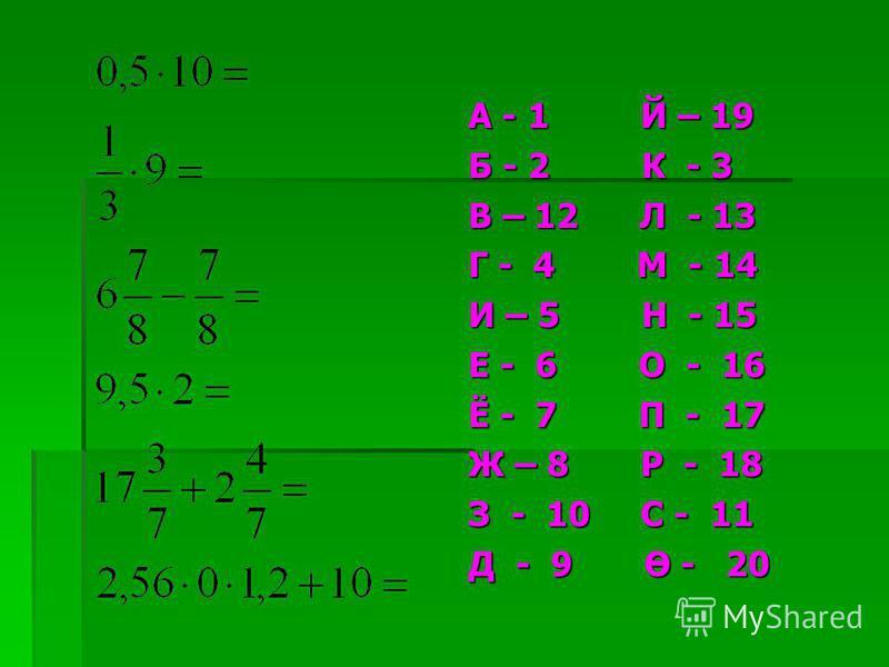 0,270,75 0,4 0,32 0,09 0,81 0,14 0,7 0,19 0,64 =1и0,81р0,6 о0,91 д0,73 х0,19 с0,36 е0,86 е0,25 л0,3 м0,68 Ташбака