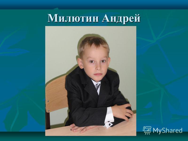 Милютин Андрей