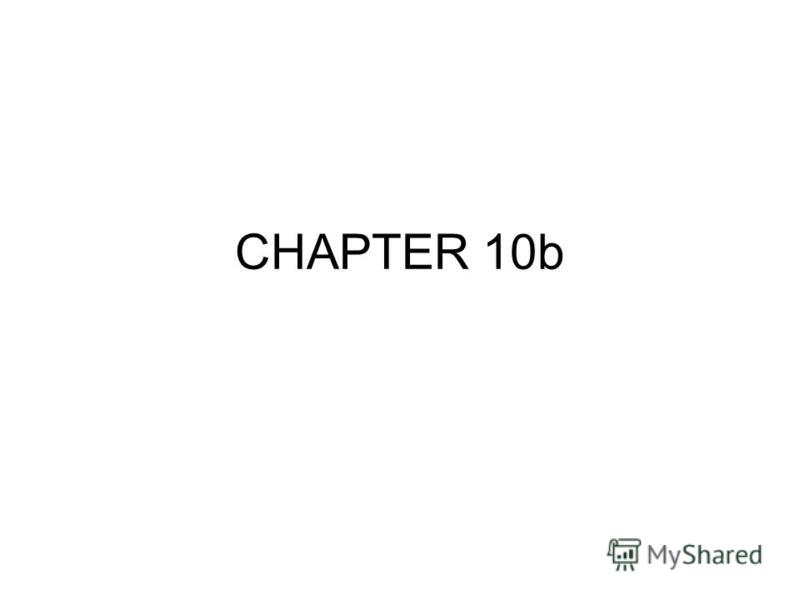 CHAPTER 10b