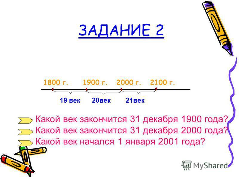 ЗАДАНИЕ 1 0 100 200 1 ВЕК 2 ВЕК