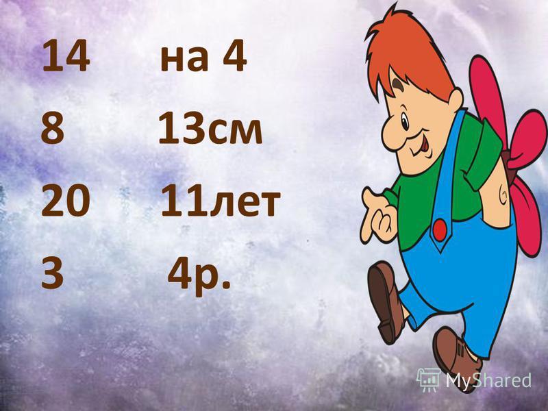 14 на 4 8 13 см 20 11 лет 3 4 р.