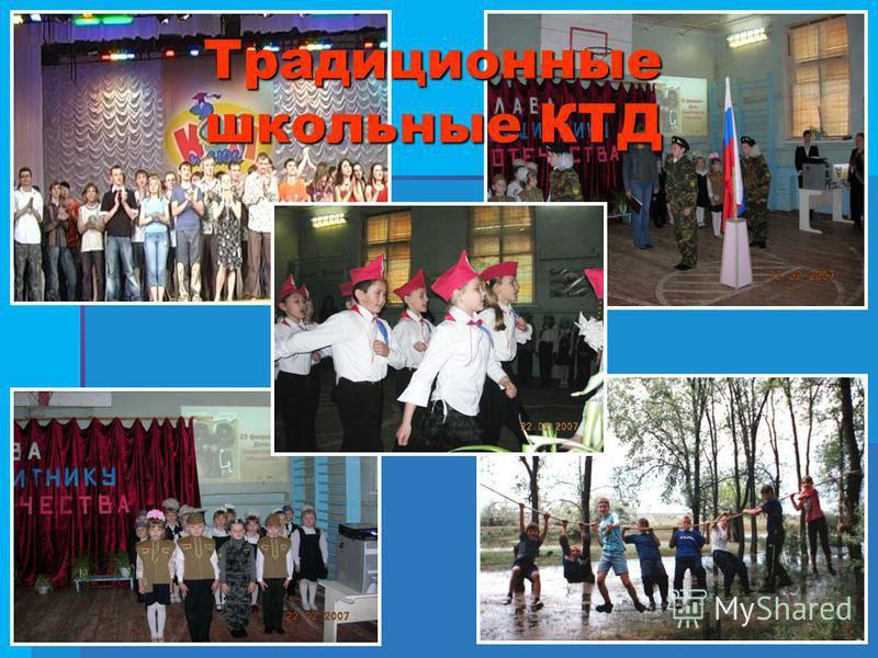 Традиционные школьные КТД