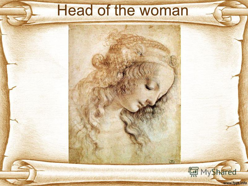 Head of the woman