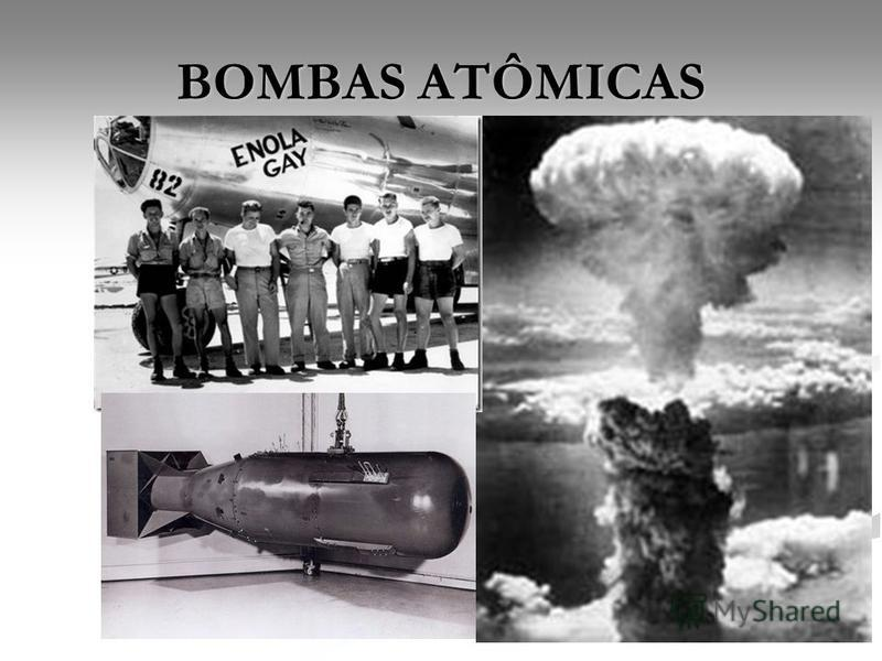 BOMBAS ATÔMICAS