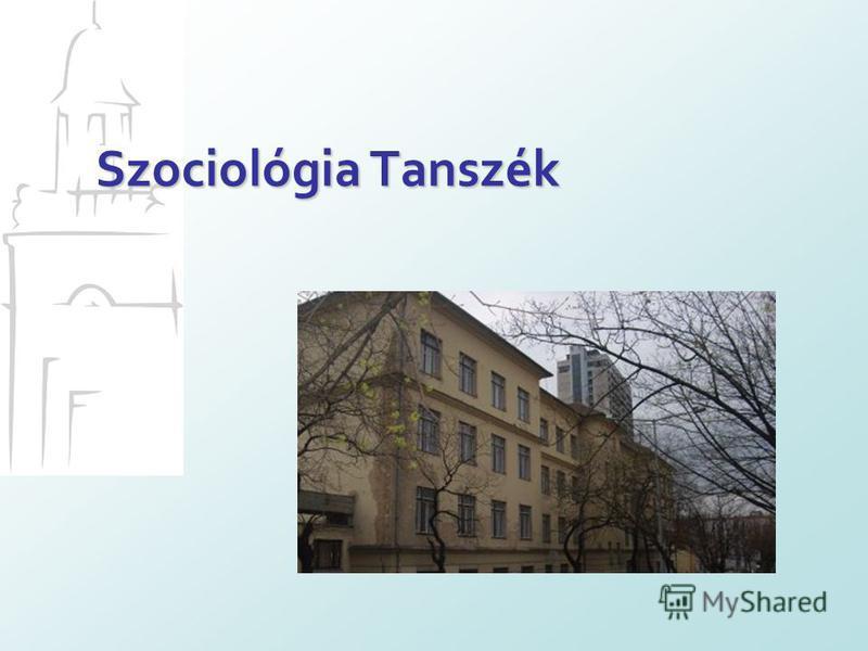 Szociológia Tanszék
