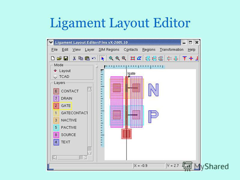 Ligament Layout Editor