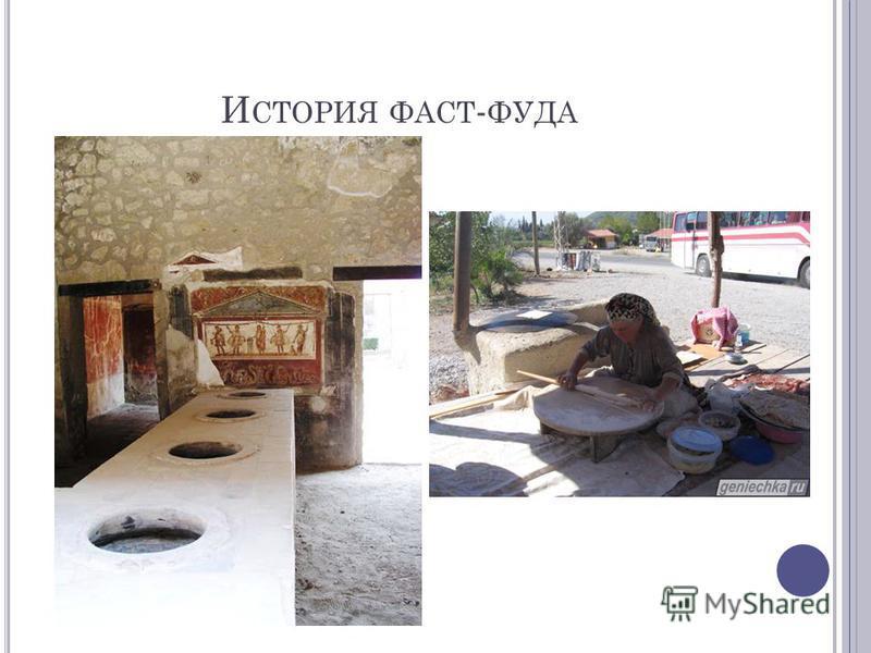 И СТОРИЯ ФАСТ - ФУДА