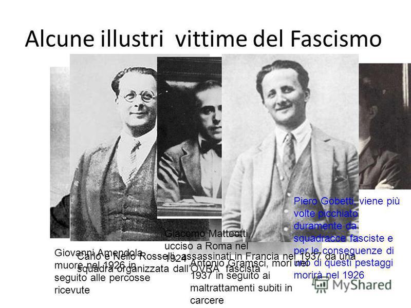 Le leggi Fascistissime (1926) -SOPPRESSIONE DELLA LIBERTÀ DI STAMPA -CHIUSURA DEI SINDACATI e ABOLIZIONE DEL DIRITTO DI SCIOPERO -SCIOGLIMENTO DEI PARTITI DI OPPOSIZIONE -CREAZIONE DI UN TRIBUNALE SPECIALE PER I REATI POLITICI -RAFFORZAMENTO DEL POTE