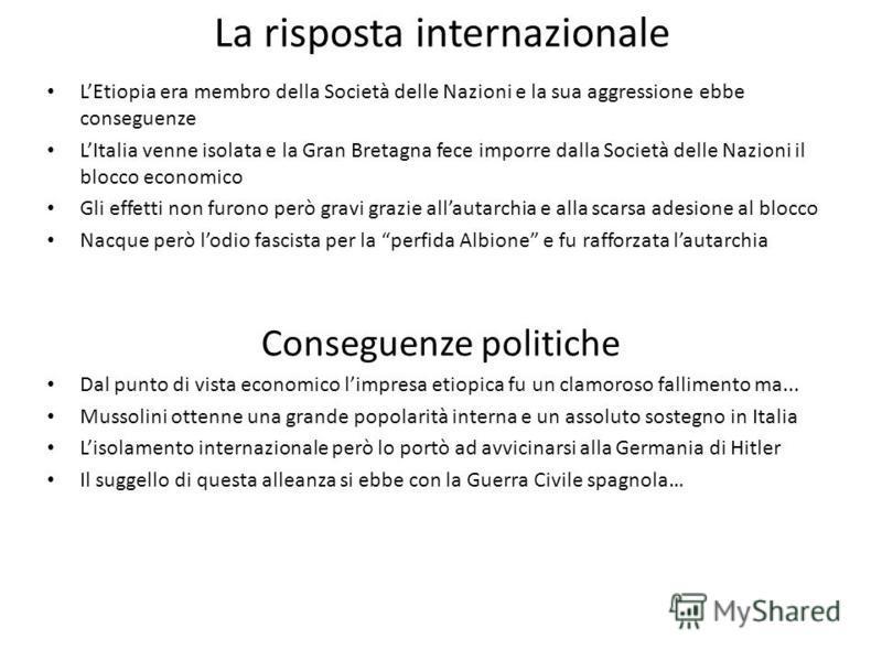 Le ragioni dellintervento Allargare il mercato nazionale Motivi di prestigio internazionale… Guadagnare il consenso dellopinione pubblica p. 169