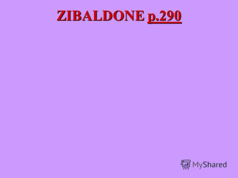 ZIBALDONE p.290