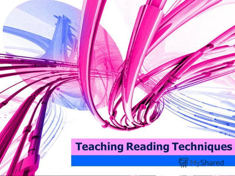 Teaching Reading Techniques