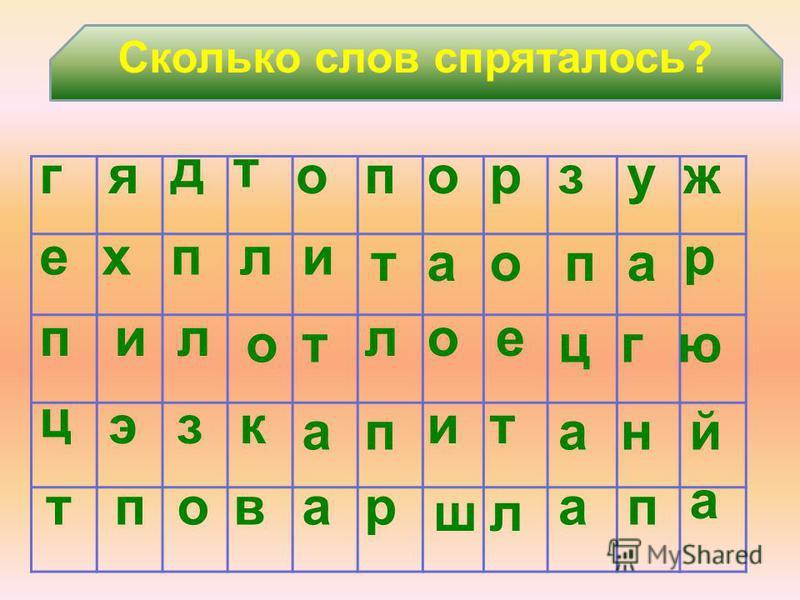 Назовите птиц. ь р и г ен в с бюро ей Воробей Снегирь В каком слове больше слогов?