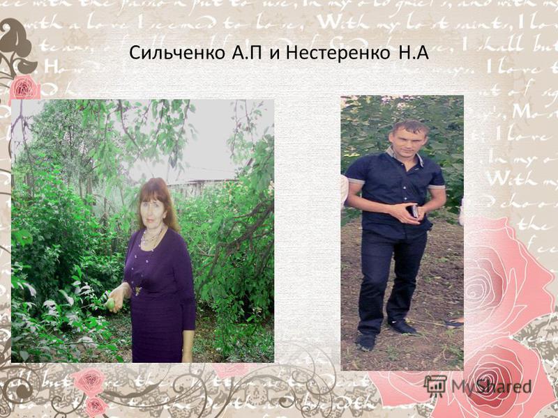 Сильченко А.П и Нестеренко Н.А