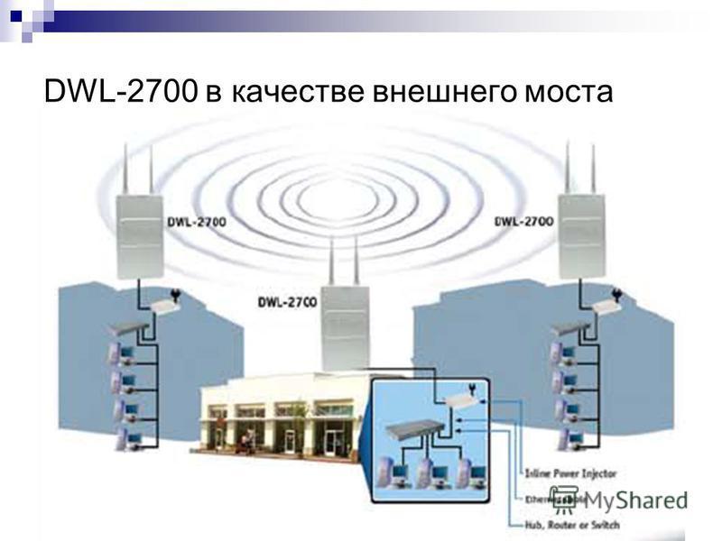 136 DWL-2700 в качестве внешнего моста