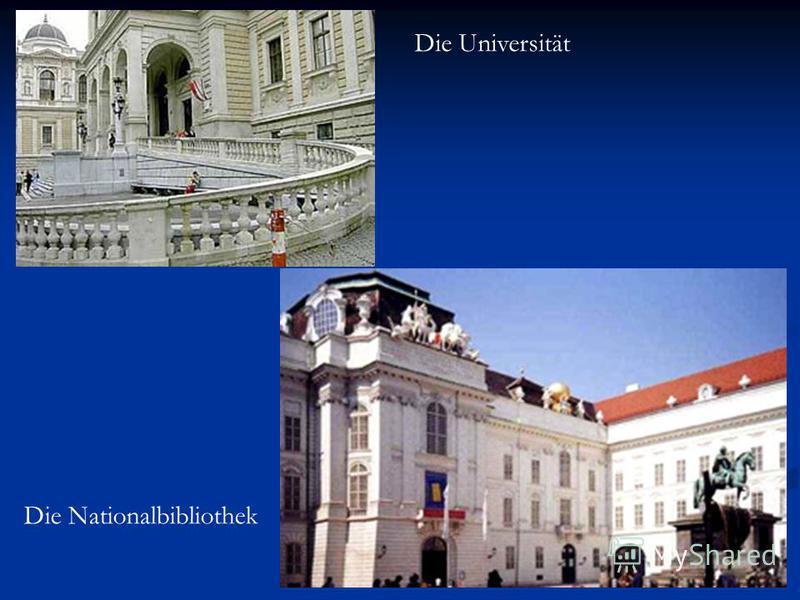 Die Universität Die Nationalbibliothek