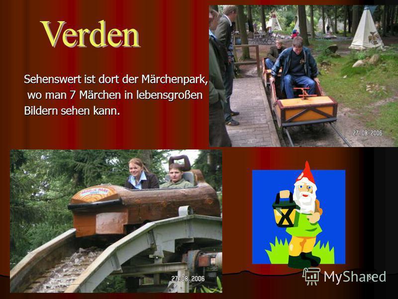 51 Sehenswert ist dort der Märchenpark, wo man 7 Märchen in lebensgroßen wo man 7 Märchen in lebensgroßen Bildern sehen kann.