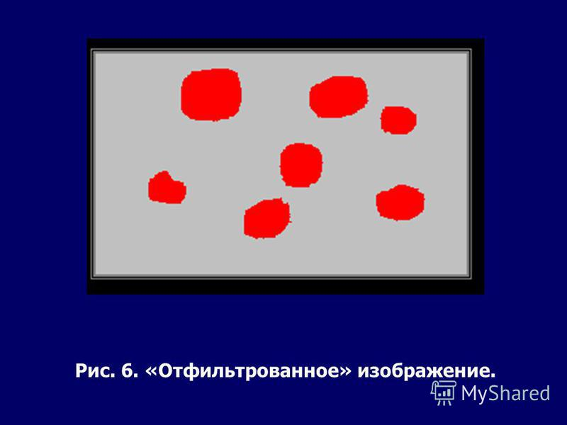 Рис. 6. «Отфильтрованное» изображение.