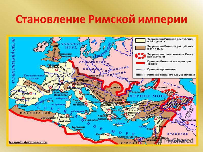 Становление Римской империи