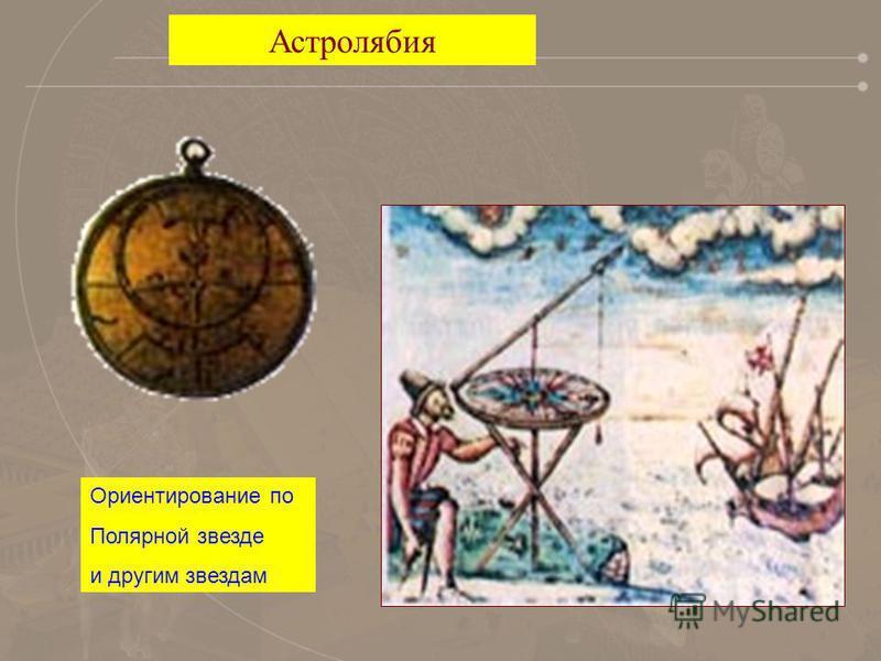 Астролябия Ориентирование по Полярной звезде и другим звездам